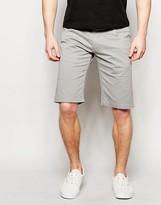 !solid Chino Shorts