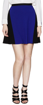 Elie Tahari Judy Colorblocked Flared Skirt