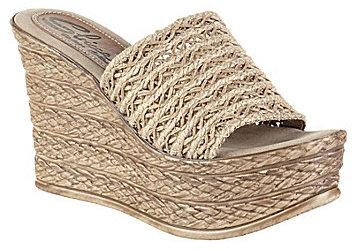 Sbicca Cabana Slip-On Wedge Sandals