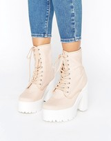 Asos ENERGY Lace Up Boots