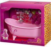 Our Generation Bathtub & Accessories Set