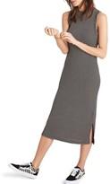 Madewell Women's Ribbed Mock Neck Midi Dress