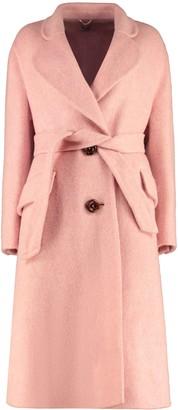 Miu Miu Oversize Belted Coat