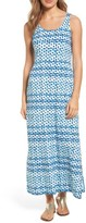 Tommy Bahama Women's Dot Matrix Cotton Maxi Dress