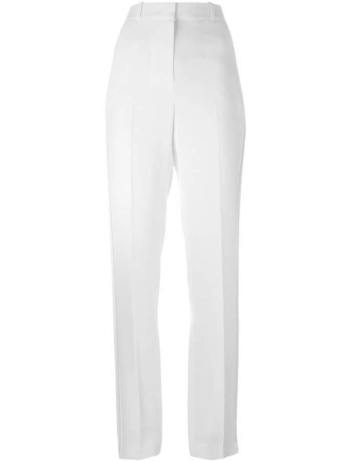 Givenchy wide leg crepe trousers