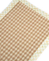 "Mackenzie Childs MacKenzie-Childs Houndstooth Wool/Sisal Runner, 2'6"" x 9'"