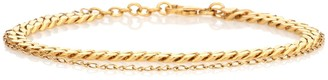 Elhanati Exclusive to Mytheresa Orit 24kt gold-plated anklet