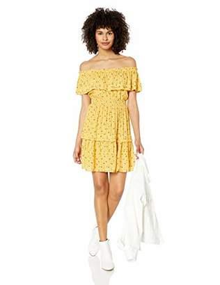 Miss Me Women's Off Shoulder Mini Dress