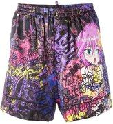 DSQUARED2 graffiti shorts