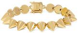 Eddie Borgo Cone Gold-plated Bracelet - one size