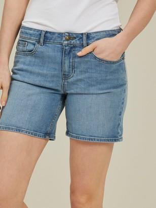Fat Face Denim Shorts - Light Wash