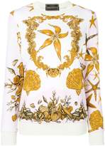 Versace sea print sweatshirt