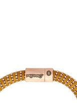 Carolina Bucci Twister Silk And Rose Gold Bracelet