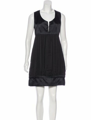 Stella McCartney Silk-Blend Dress Black