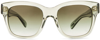 Oliver Peoples Mellery Sunglasses in Washed Sage & Olive Gradient | FWRD