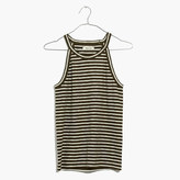 Madewell Timeoff Tank Top in Marion Stripe