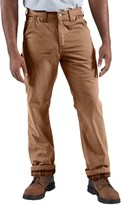 Carhartt Washed-Twill Dungaree Pants - Flannel Lined (For Men)