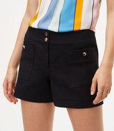 LOFT Patch Pocket Shorts