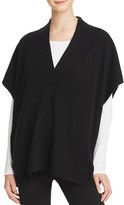 C by Bloomingdale's Cashmere Poncho Sweater