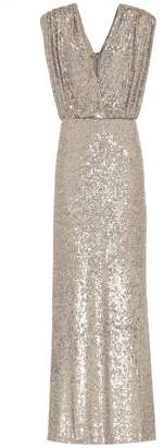 Monique Lhuillier Sequined gown