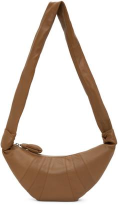 Lemaire SSENSE Exclusive Tan Small Croissant Bag