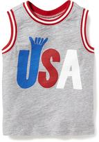 """Old Navy """"USA"""" Muscle Tank for Toddler"""