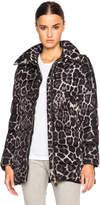 Moncler Torcelle Leopard Print Coat