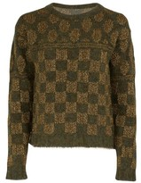 Roberto Collina Square-patterned sweater