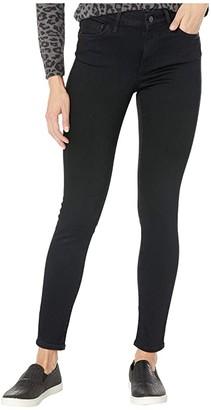 Mavi Jeans Alissa High-Rise Super Skinny Ankle in Black Brushed Supersoft (Black Brushed Supersoft) Women's Jeans