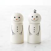 Williams-Sonoma Williams Sonoma Snowman Salt & Pepper Set