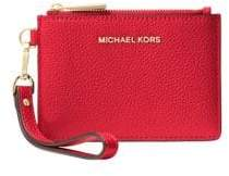 MICHAEL Michael Kors Small Pebbled Leather Coin Purse