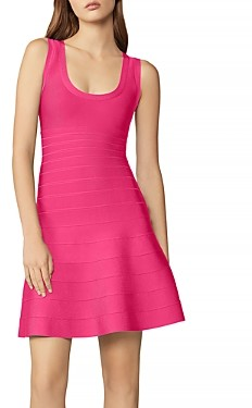 Herve Leger Fit and Flare Dress