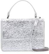 Deux Lux Women's Crinkle Metallic Crossbody Bag