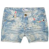 Epic Threads Printed Denim Shorts, Big Girls, Created for Macy's