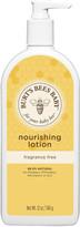 Burt's Bees Baby Bee Nourishing Fragrance Free Lotion