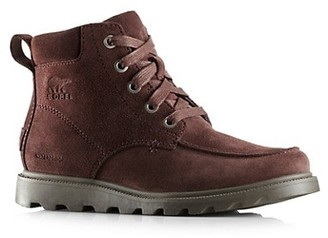 Sorel Kid's Madson Moc-Toe Suede Hiking Boots
