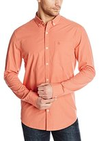 Coral Button Down Shirt Men - ShopStyle