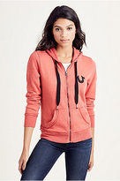 True Religion Raw Edge Womens Hoodie