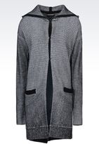 Emporio Armani Cardigan In Wool Blend