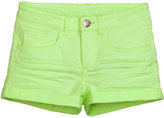 H&M Twill Shorts - Lime green - Kids