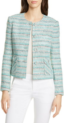 Helene Berman Short Tweed Jacket