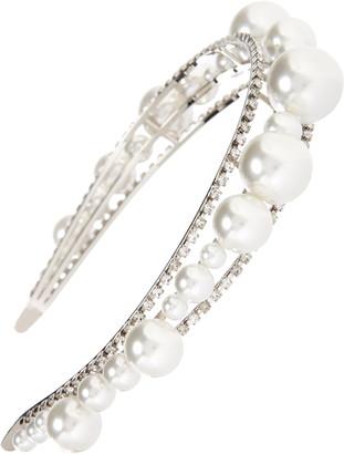 Givenchy Givency Ariana Imitation Pearl & Crystal Headband