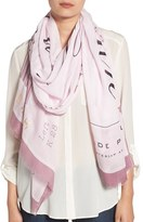 Kate Spade Women's 'Ballet Ticket' Print Scarf