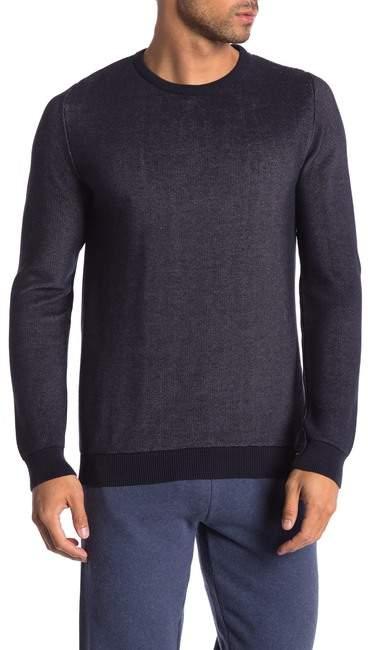 Knowledge Cotton Apparel Crew Neck Pique Knit Pullover