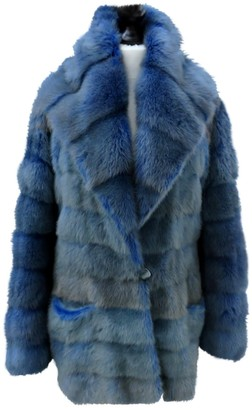 Ohne Titel Blue Mink Jacket for Women