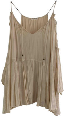 Spell & The Gypsy Collective Beige Cotton Dresses