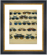 Munn Works Thiebaud, Five Rows of Sunglasses, 2000