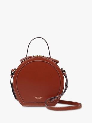 Radley Hazel Leather Grab Bag, Brown