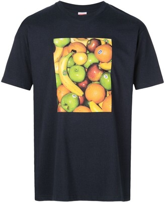 Supreme fruit print T-shirt