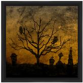 PTM Images Graveyard I Framed Print